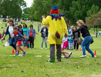 Kids Charity Party in Regents Park, 01 June 15 – supporting Misho and Lubcho