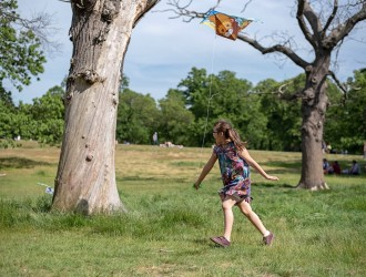 1st of June 19 event – The Children with the kites